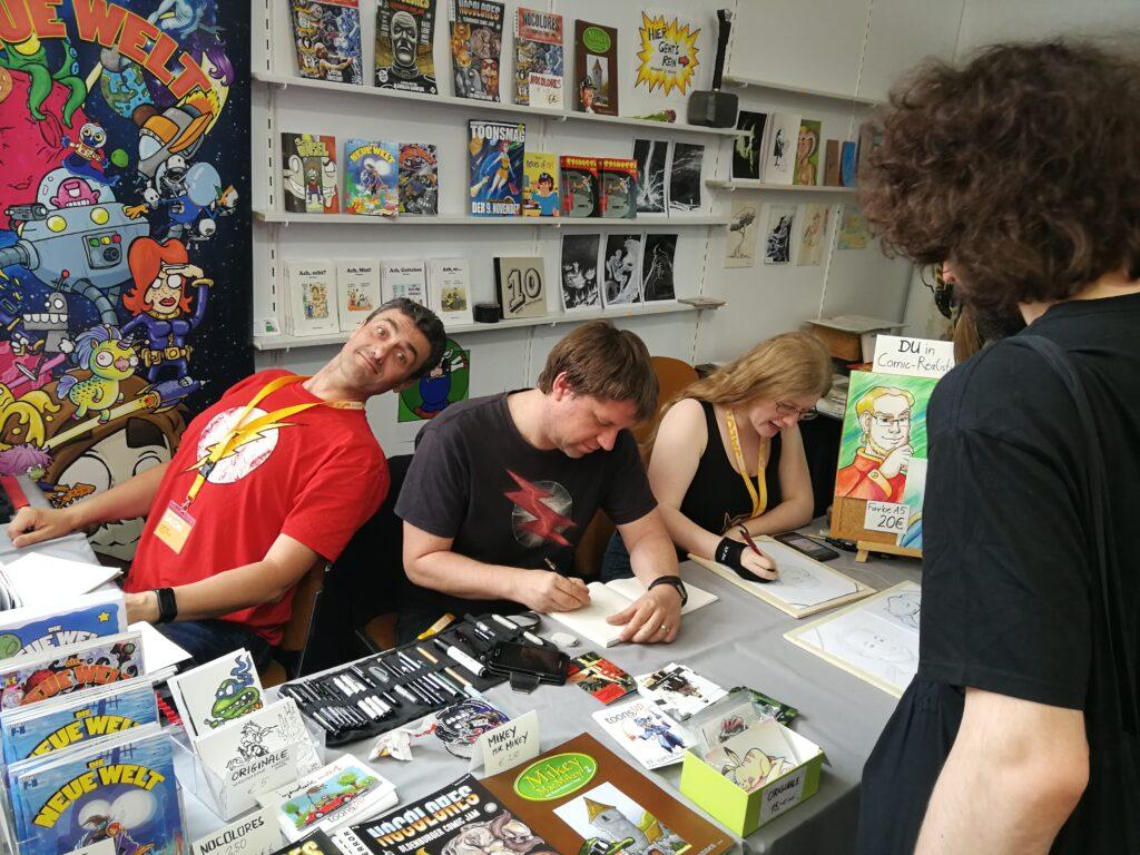 Photo von Toons Up Zeichnern am Stand
