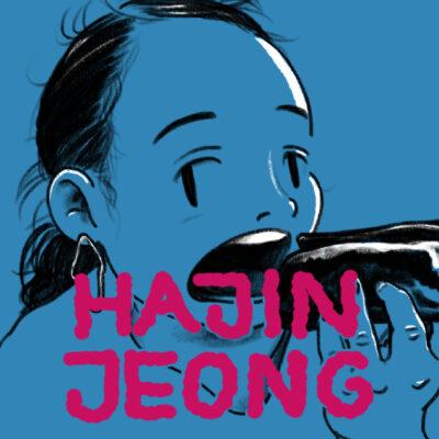 Gezeichnetes Portrait von Hajin Jeong