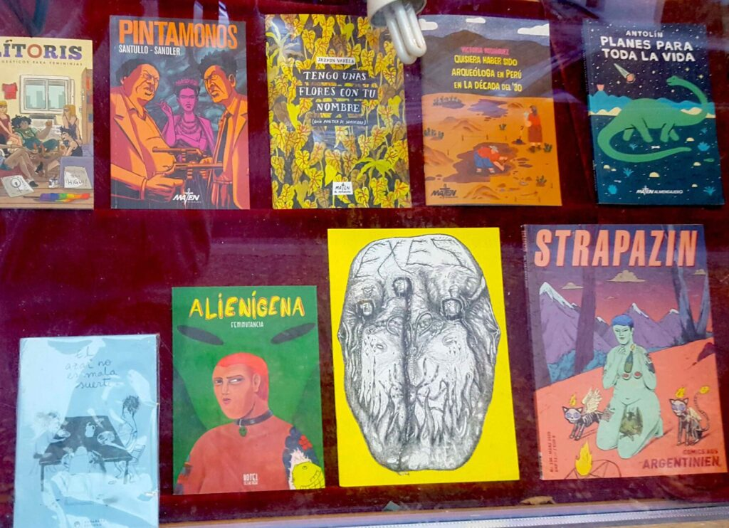 Argentinien-Comics bei Renate